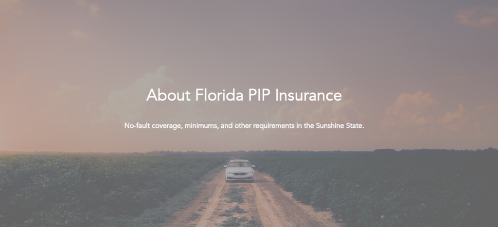 What Is No Fault Insurance In Florida Home Auto Accident